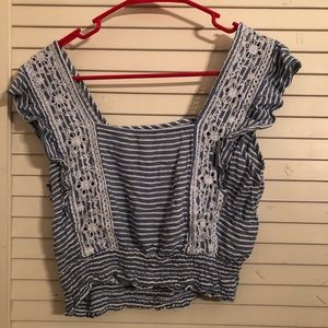 American Eagle Outfitters Tops - American Eagle square neck crop top